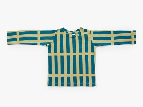 long sleeved t-shirt - blue sticks