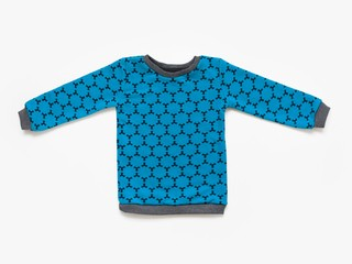 fleece sweatshirt - cobalt star