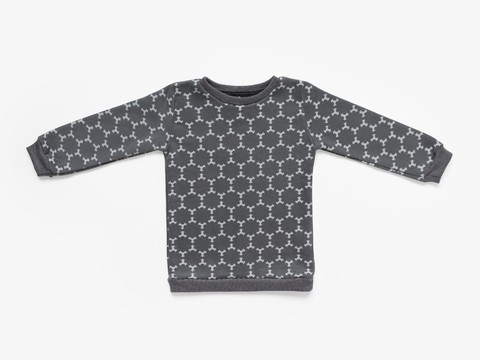 fleece sweatshirt - graphite star