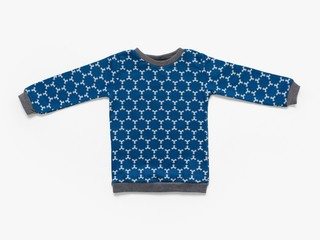 fleece sweatshirt -índigo star