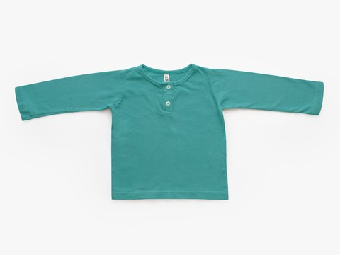 long sleeved t-shirt - turquoise
