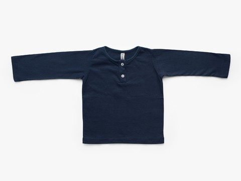 long sleeved t-shirt - navy