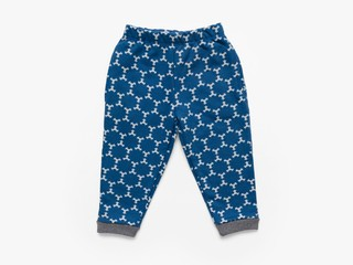 fleece trousers - indigo star