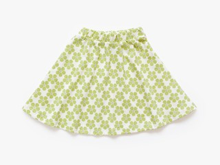 skirt - light olive pansy