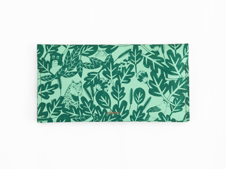 LT wallet -aqua rainforest