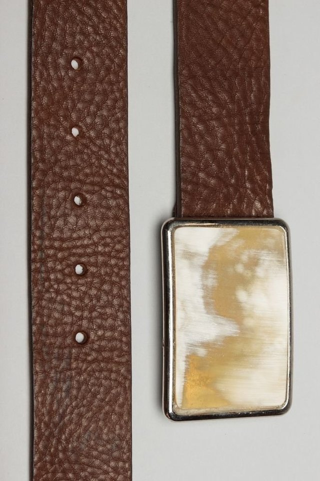 Cow Brown Belt
