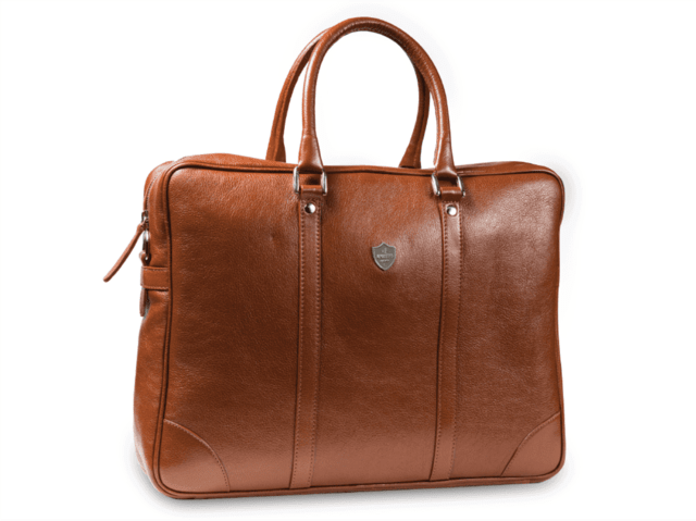 APUESTO BRIEFCASE - Brown