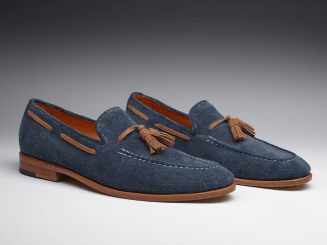 TASSEL SHOES - Blue - comprar online