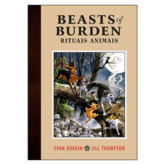 Beasts of Burden Vol.1: Rituais Animais (Evan Dorkin, Jill Thompson)