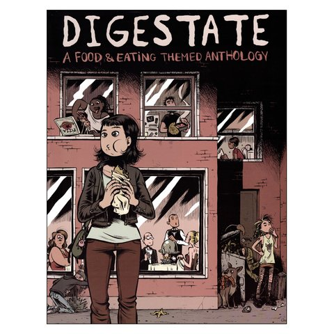 Digestate: a food & eating themed anthology (vários autores)