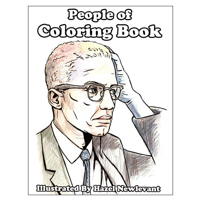 People of Coloring Book (Hazel Newlevant)