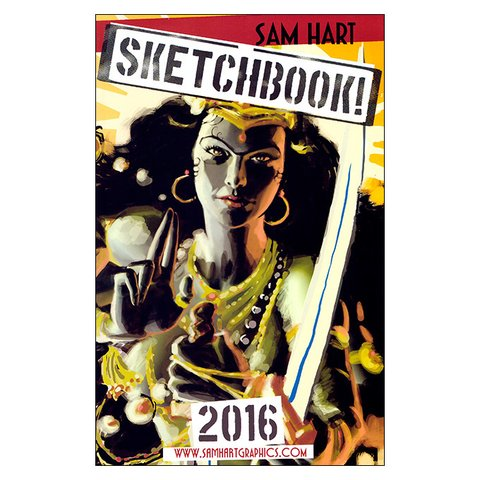 Sam Hart Sketchbook! 2016 (Sam Hart)