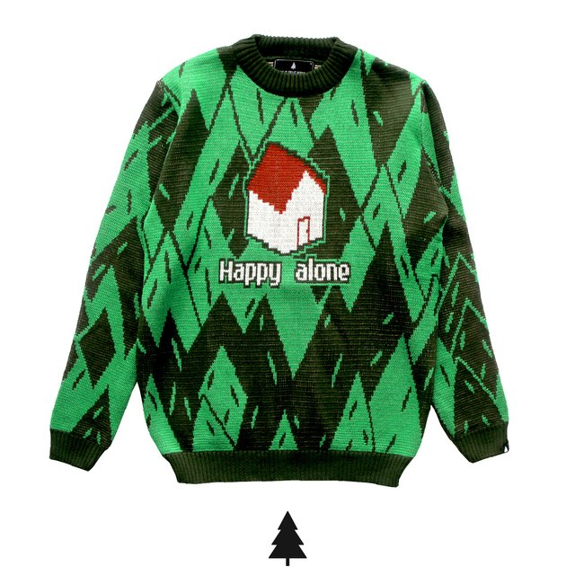 Happy Alone Sweater