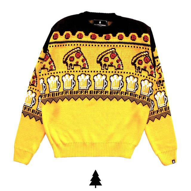 Pizza Birra Sweater