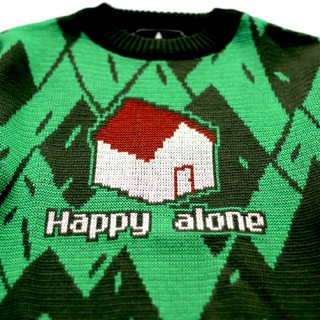 Happy Alone Sweater on internet
