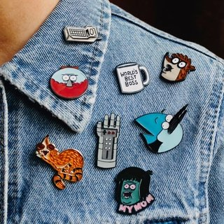 Regular Show Pins - This Is Feliz Navidad