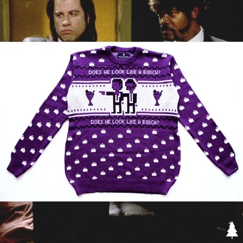 Does He Look Like Sweater (Violeta) - This Is Feliz Navidad