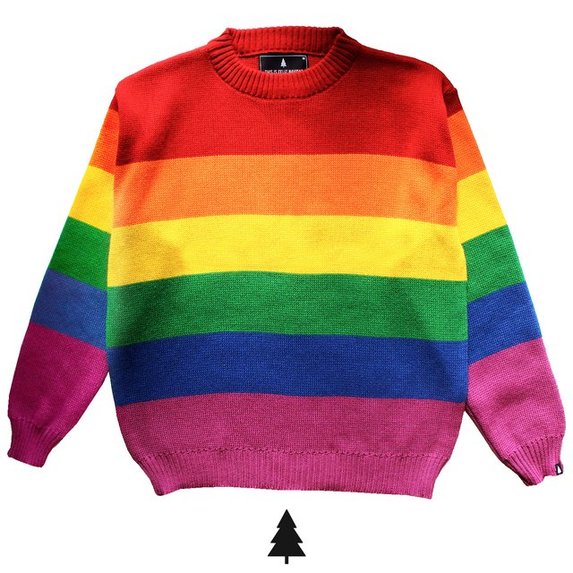 48eaa0f3936b9 Rainbow Sweater
