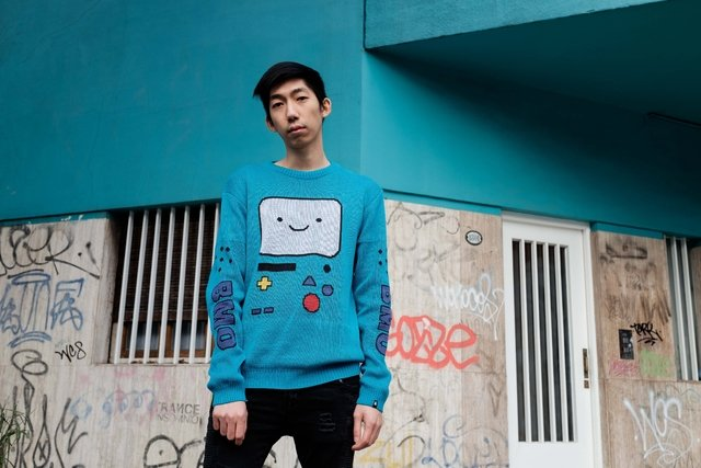 BMO Sweater - This Is Feliz Navidad