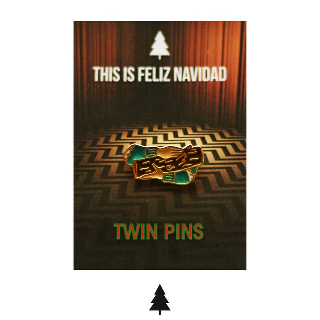 Twin Pins - This Is Feliz Navidad