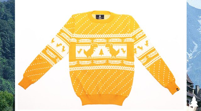 Offline Dino Sweater (Yellow)
