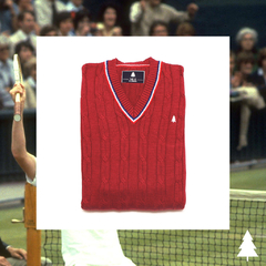 McEnroe Sweater (Red) - buy online
