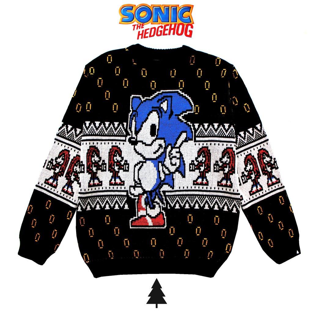 Sonic Sweater Buy In This Is Feliz Navidad