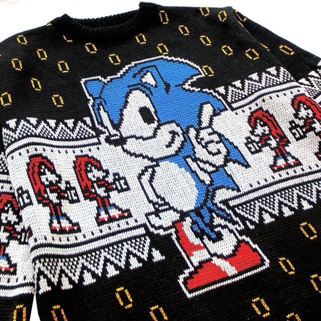 Sonic Sweater on internet
