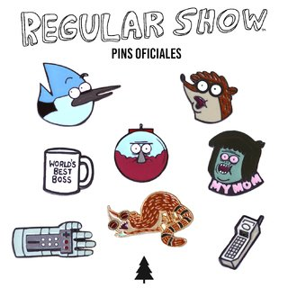 Regular Show Pins