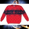 Clock Tower Sweater (Red)
