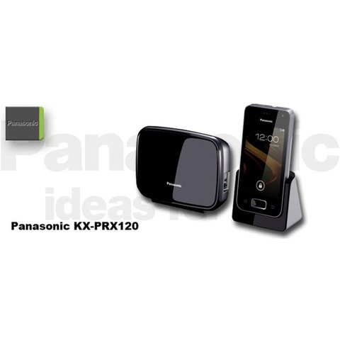 Telefone Sem Fio Panasonic KX-PRX120 Android Touch Wi-fi