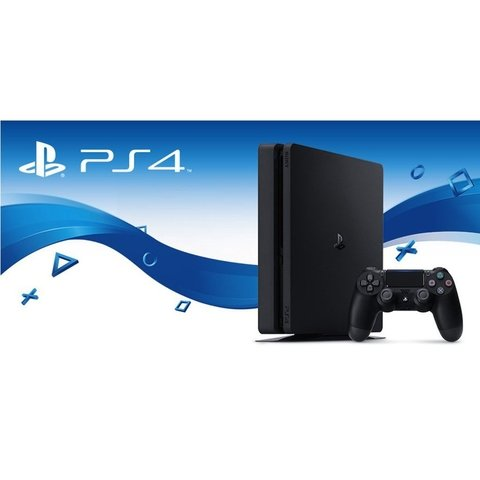 PS4 Playstation 4 Slim Sony 500GB + Uncharted 4 Bivolt
