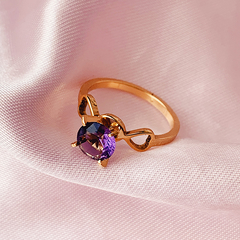 Anillo Honeysuckle (violeta)