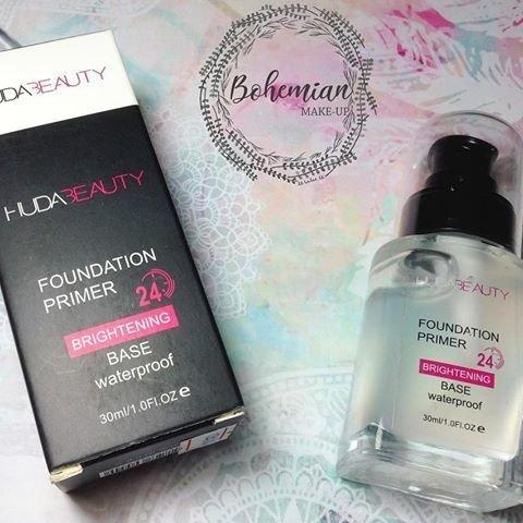Primer Huda Beauty Hidratante Brightening