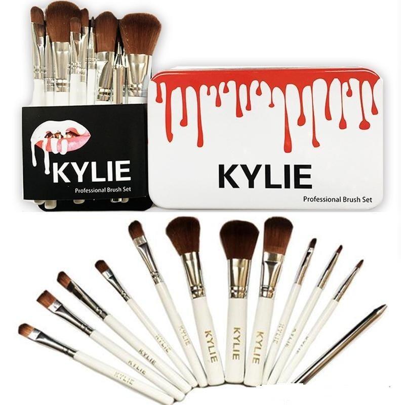 Set de 12 brochas Kylie Jenner -  x 12 packs
