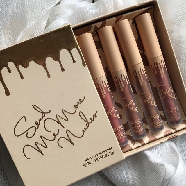 Set De 4 Labiales Kylie  Send Me More Nudes