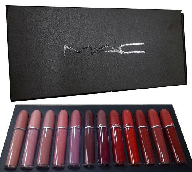 Labiales X 12 Mac Intransferible 24 Hs Matte