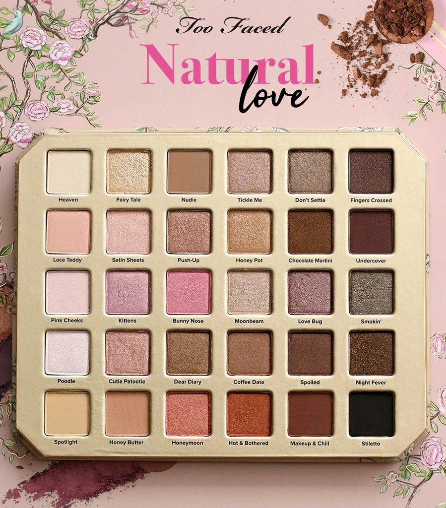 Paleta Sombras Too Faced Natural Love X 12 Unidades En Córdoba Vende
