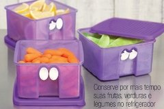 Pote Fresh Smart Roxo 1l TUPPERWARE na internet