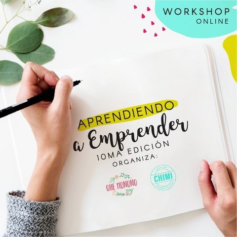 Workshop -Aprendiendo a Emprender - on line - comprar online