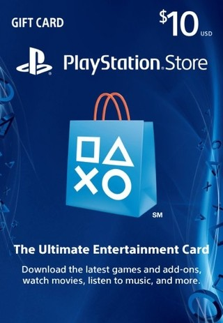 PSN CARD 10 USA