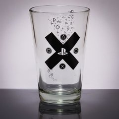 Vaso Vidrio Oficial Cruz Playstation