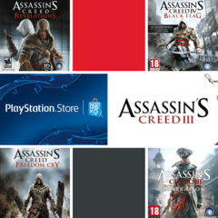 Combo Assassin's creed Ps3