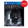 Juego ps4 Dishonored