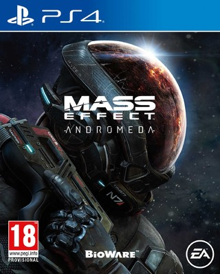 Mass effect Andromeda PS4 Nuevo