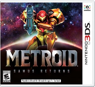 METROID SAMUS RETURNS 3DS NUEVO