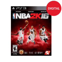 Nba 2K16 PS3 - comprar online