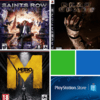 Combo Saints Row IV - Dead Space - Metro Last Light - Ps3 - Digital