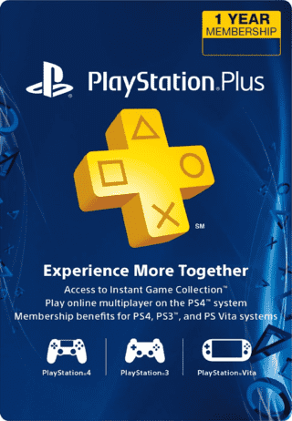 Ps Plus 12 meses - USA