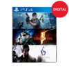 Resident evil Triple pack PS4
